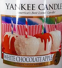 White Chocolate Apple USA Yankee Candle Wax Crumble Pot