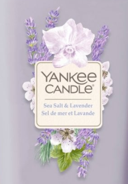 Sea Salt and Lavender USA Elevation Yankee Candle Soy Wax Crumble Pot