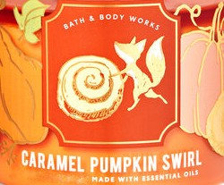 Caramel Pumpkin Swirl USA Bath and Body Works Wax Crumble Pot