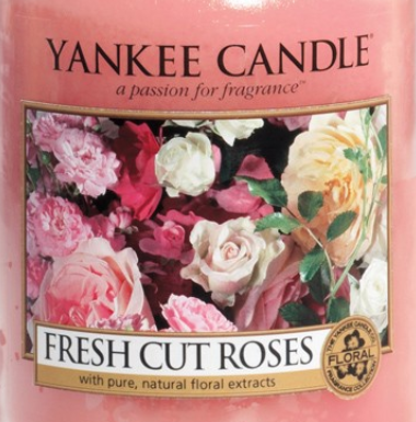 Fresh Cut Roses Yankee Candle Wax Crumble Pot