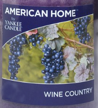 Wine Country USA Yankee Candle Wax Crumble Pot