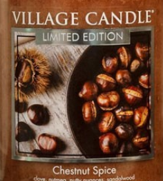 Chestnut Spice USA Village Candle Wax Crumble Pot