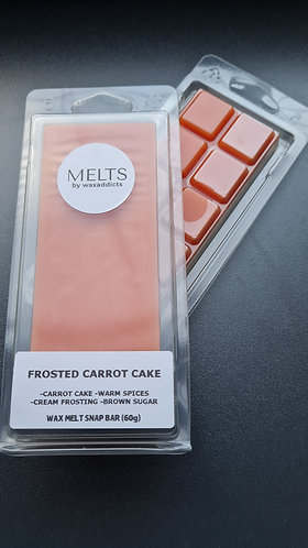 Frosted Carrot Cake Wax Melt Snap Bar by Wax Addicts