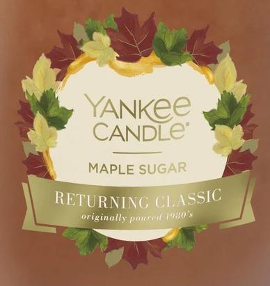 Maple Sugar USA Yankee Candle Wax Crumble Pot
