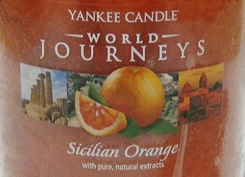 Sicilian Orange USA Yankee Candle Wax Crumble Pot
