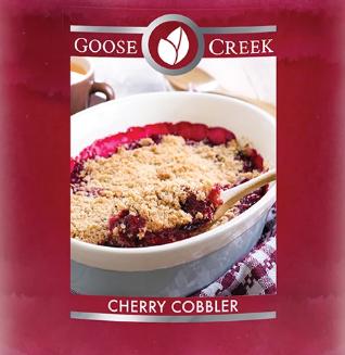 Cherry Cobbler Goose Creek Wax Crumble Pot 22g