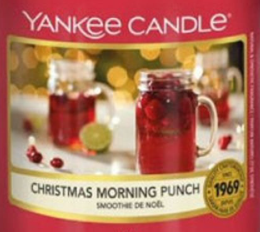 Christmas Morning Punch 2020 Yankee Candle Wax Crumble Pot