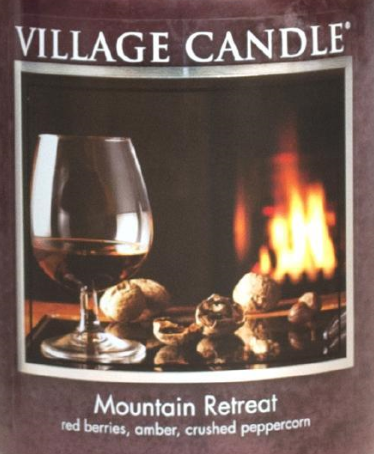 Mountain Retreat Village Candle Wax Crumble Pot 22g