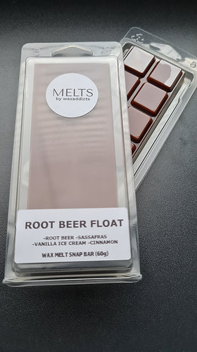 Root Beer Float Wax Melt Snap Bar by Wax Addicts