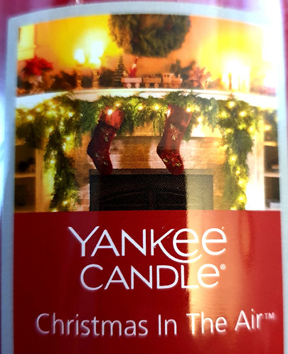 Christmas In The Air USA Yankee Candle Wax Crumble Pot 22g