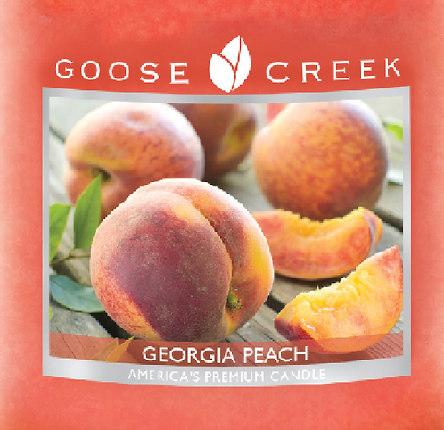 Georgia Peach Goose Creek Wax Crumble Pot 22g