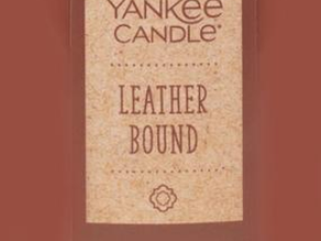 Leather Bound by Yankee Candle Review