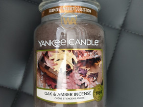 Oak & Amber Incense by Yankee Candle Review
