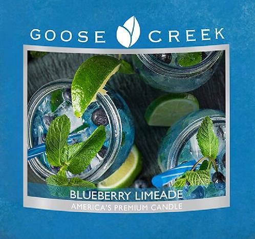 Blueberry Limeade Goose Creek Wax Crumble Pot