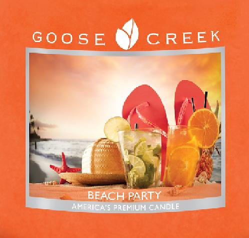 Beach Party Goose Creek Wax Crumble Pot 22g