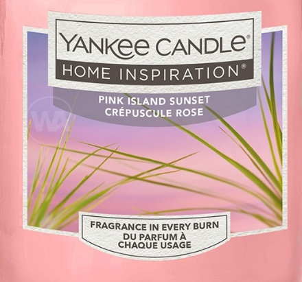Pink Island Sunset Yankee Candle Wax Crumble Pot 22g