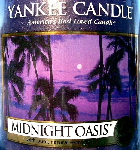 Midnight Oasis USA Yankee Candle Wax Crumble Pot 22g