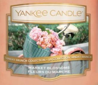 Market Blossoms USA Yankee Candle Wax Crumble Pot
