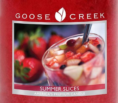 Summer Slices Goose Creek Wax Crumble Pot 22g