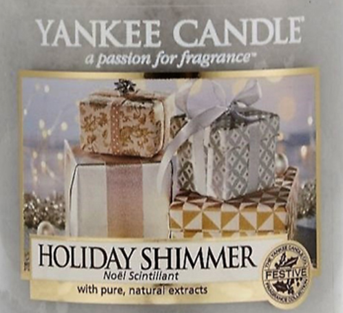 Holiday Shimmer Yankee Candle Wax Crumble Pot 22g