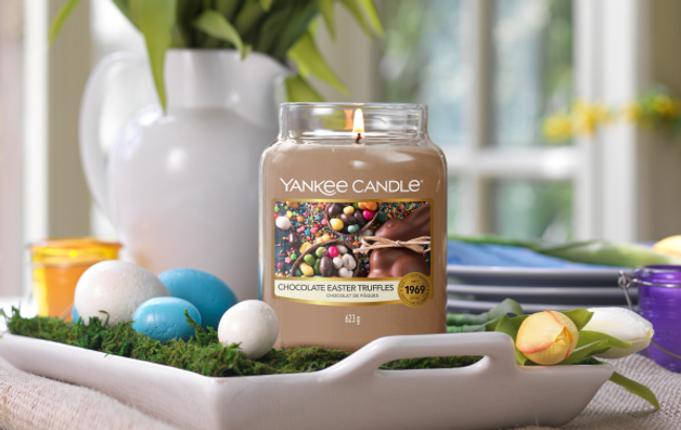 chocolate easter truffles yankee candle 2021