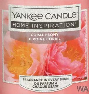 Coral Peony 2021 Yankee Candle Wax Crumble Pot