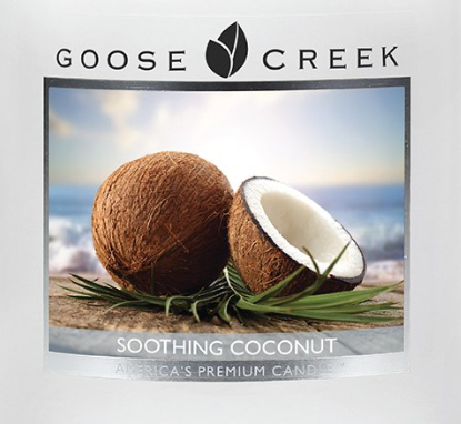 Soothing Coconut Goose Creek Wax Crumble Pot 22g
