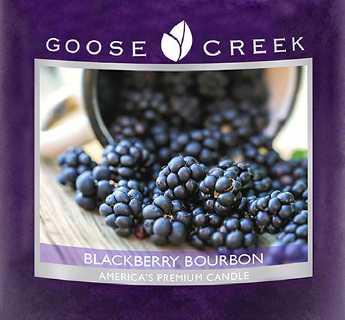 Blackberry Bourbon Goose Creek Wax Crumble Pot 22g