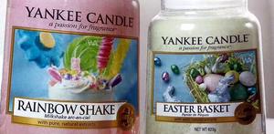 Yankee Candle 2019 Fragrances Rainbow Shake, Easter Basket