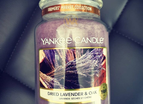 Lavender & Oak by Yankee Candle Review