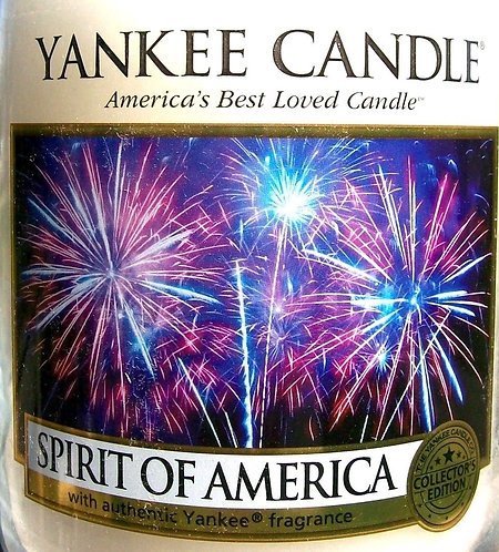 Spirit Of America USA Yankee Candle Wax Crumble Pot 22g