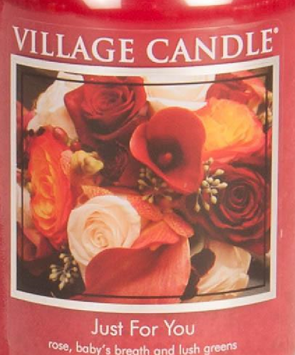 Just For You Village Candle Wax Crumble Pot 22g