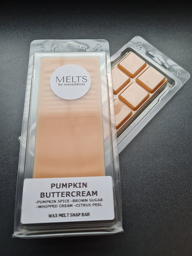 Pumpkin Buttercream Wax Melt Snap Bar by Wax Addicts