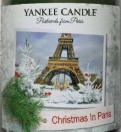 Christmas in Paris USA Yankee Candle Wax Crumble Pot 22g