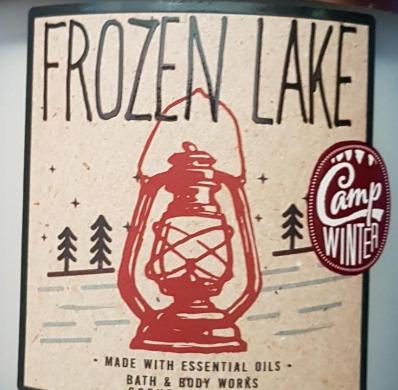 Frozen Lake USA Bath and Body Works Wax Crumble Pot 22g