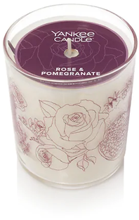Rose & Pomegranate 7-oz. Floral Jar Cand