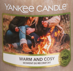 Warm and Cosy Yankee Candle Wax Crumble Pot