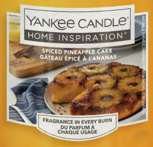 Spiced Pineapple Cake 2020 Yankee Candle Wax Crumble Pot