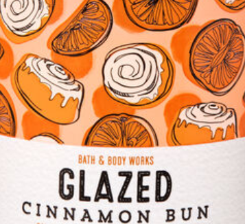 Glazed Cinnamon Bun USA Bath and Body Works Wax Crumble Pot 22g