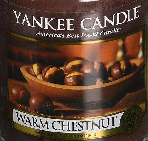 Warm Chestnut USA Yankee Candle Wax Crumble Pot