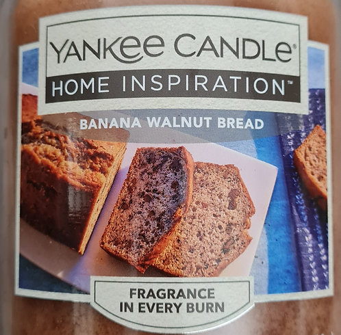 Banana Walnut Bread Yankee Candle Wax Crumble Pot