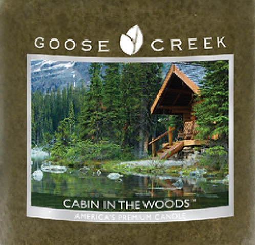 Cabin In The Woods Goose Creek Wax Crumble Pot 22g