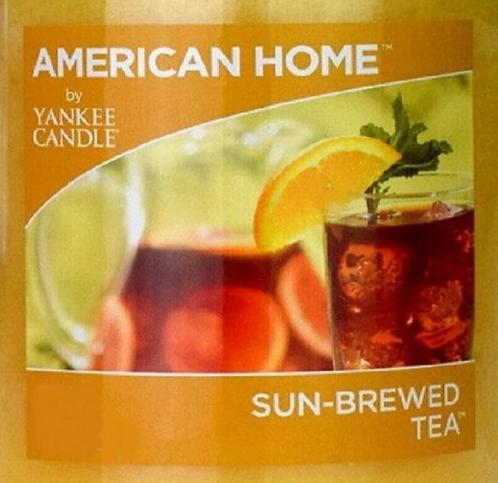 Sun-Brewed Tea USA Yankee Candle Wax Crumble Pot
