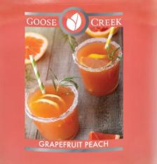 Grapefruit Peach USA Goose Creek Wax Crumble Pot 22g