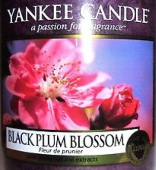 Black Plum Blossom Yankee Candle Wax Crumble Pot 22g