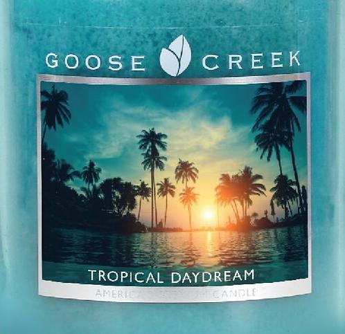 Tropical Daydream Goose Creek Wax Crumble Pot 22g