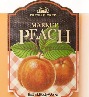 Market Peach USA Bath and Body Works Wax Crumble Pot 22g