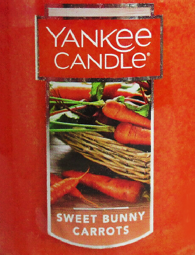 Sweet Bunny Carrots USA Yankee Candle Wax Crumble Pot