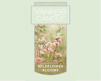 Wildflower Blooms Yankee Candle Wax Crumble Pot
