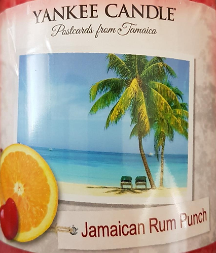 Jamaican Rum Punch USA Yankee Candle Wax Crumble Pot 22g